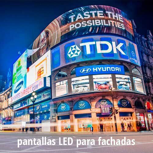 Pantallas LED  publicidad para fachadas  Exterior