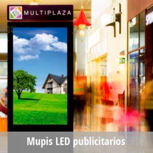 Totem LED -Cartelería LED o Mupis publicitarios interior