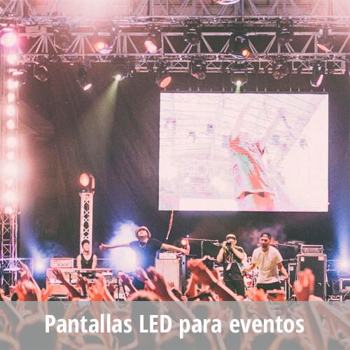 Pantallas LED para eventos – Alquiler LED