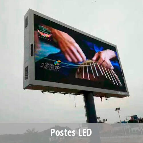 Pantallas LED publicitarias – Exterior (outdoor)